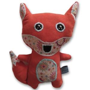 doudou renard roux vif